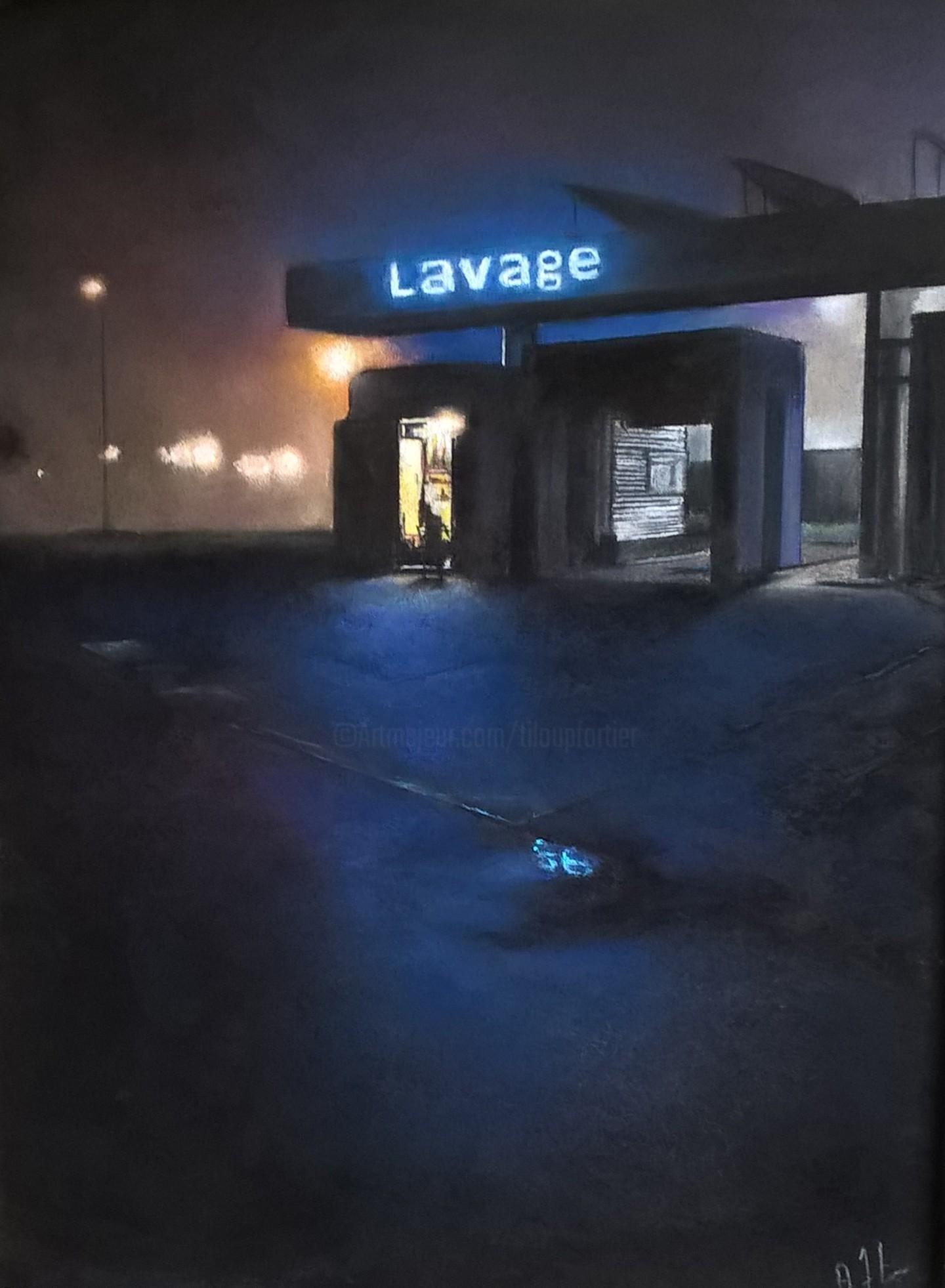 Alain Fortier - La station de lavage.jpg