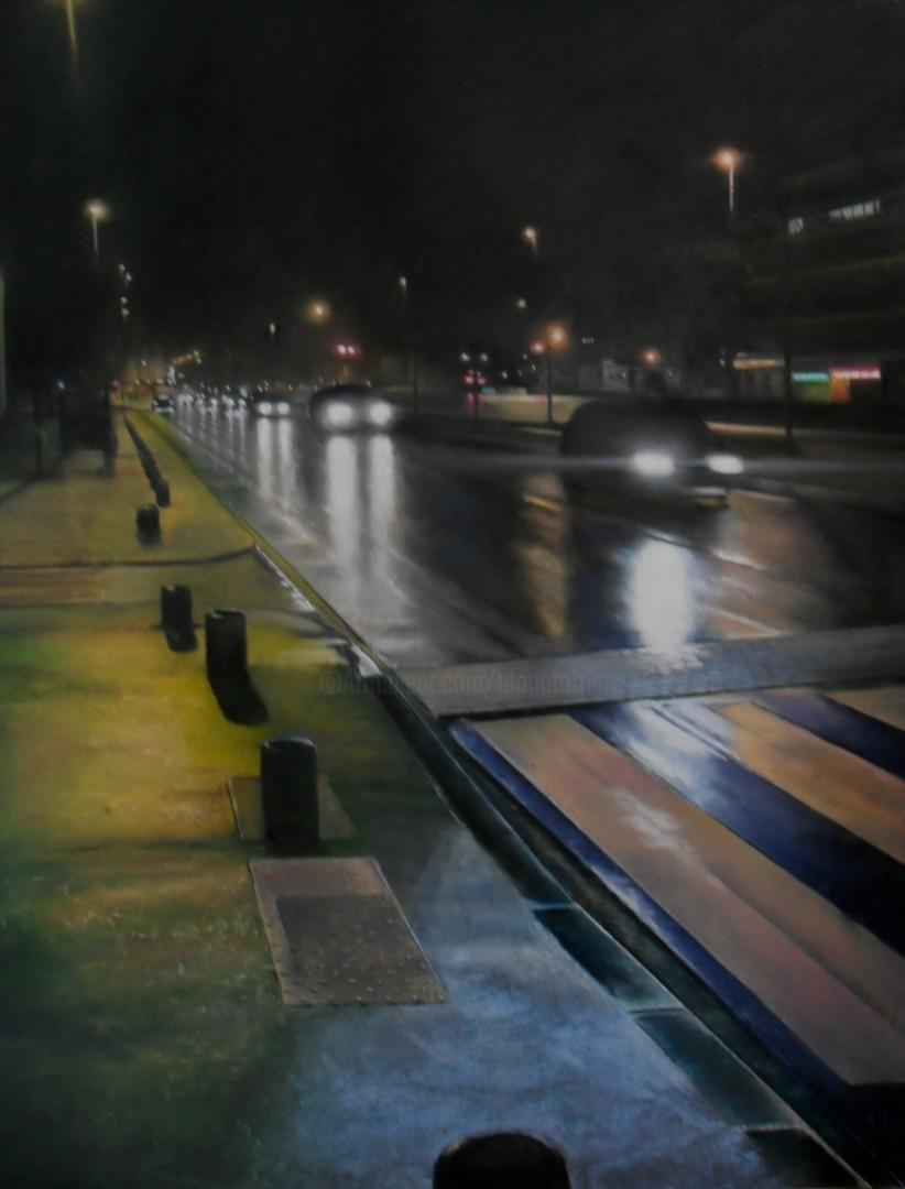Alain Fortier - La nuit, la pluie