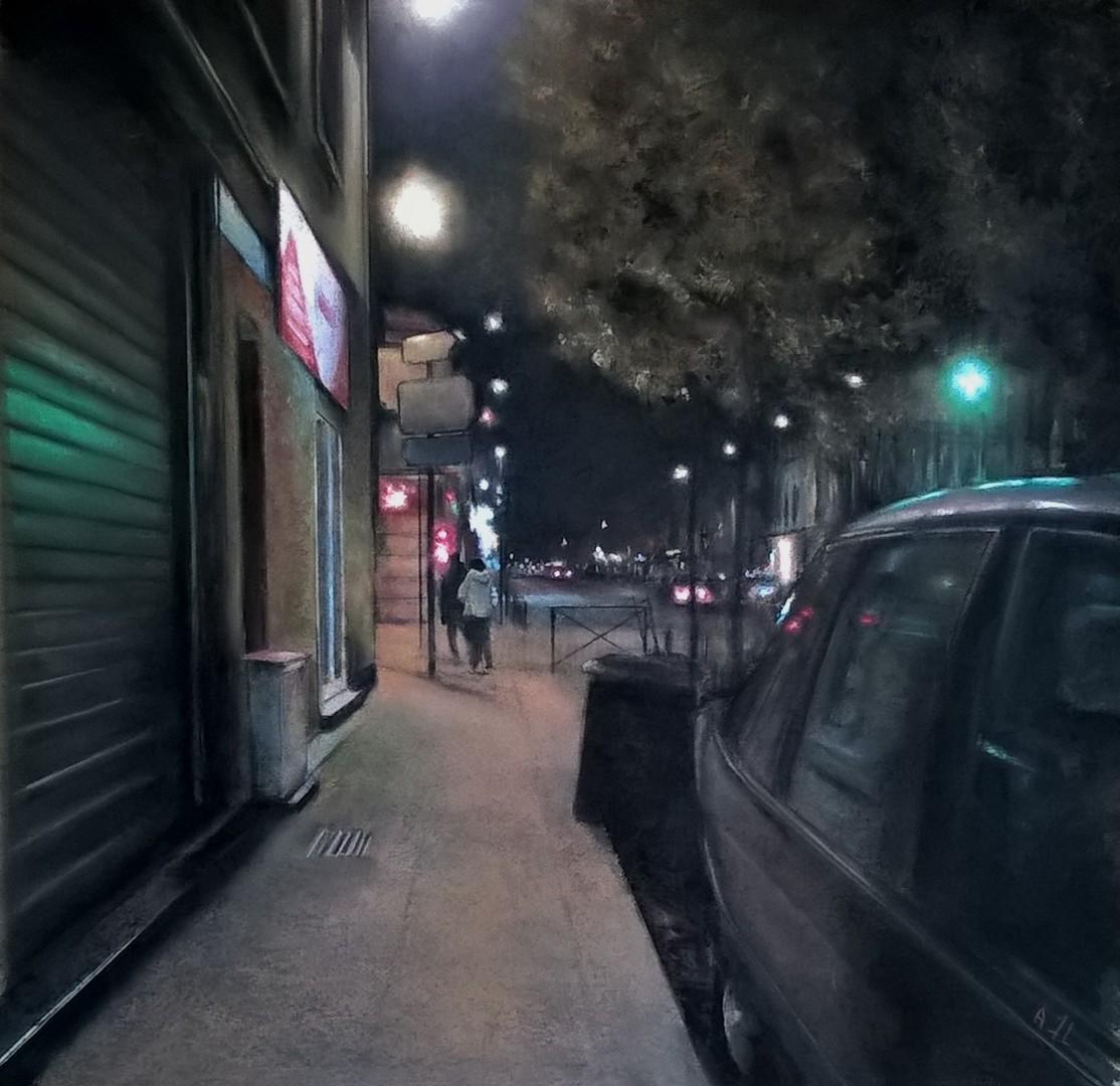 Alain FORTIER - BDX la nuit