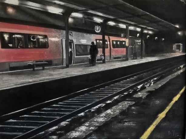 Alain FORTIER - Gare solitude