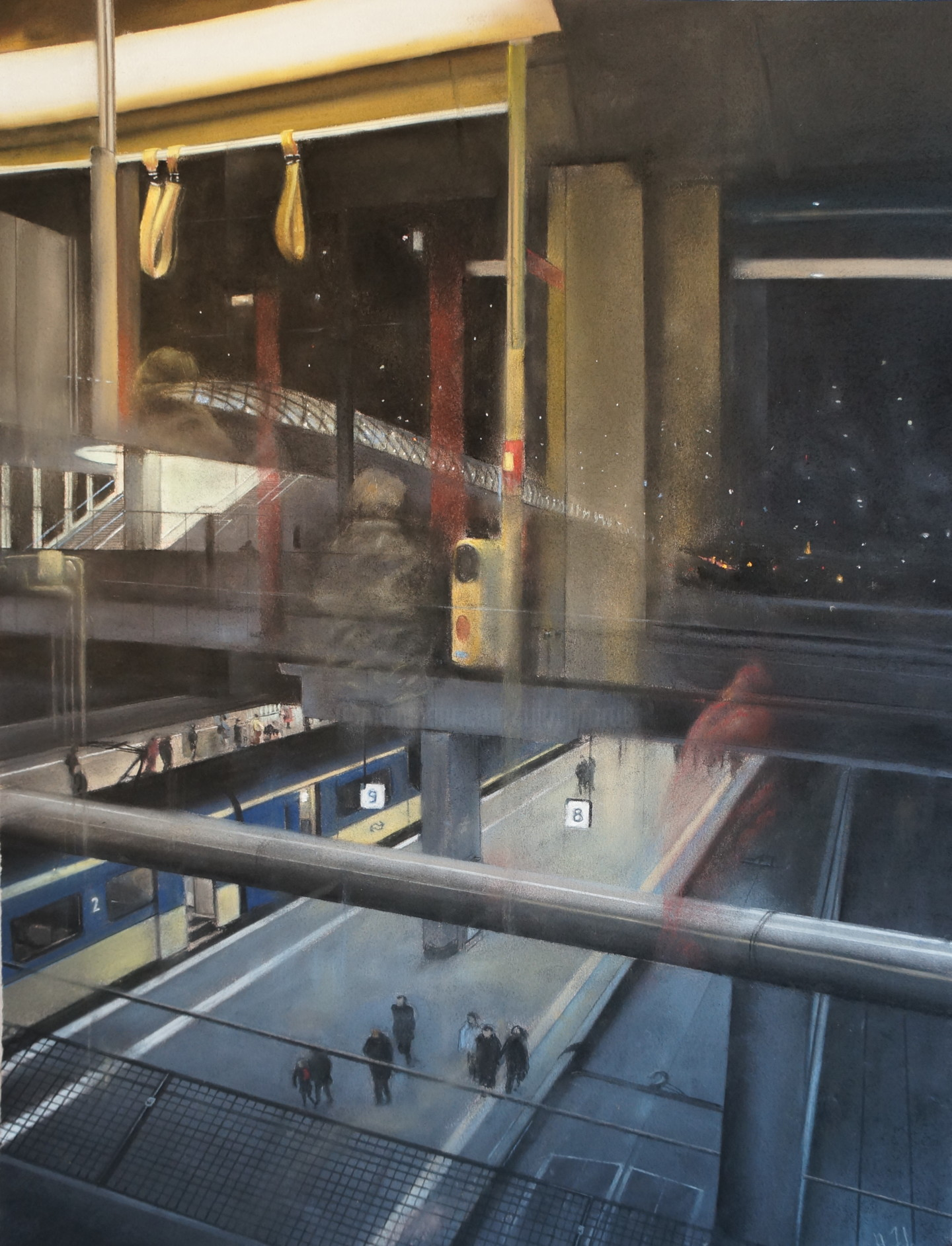 Alain Fortier - Centraal station